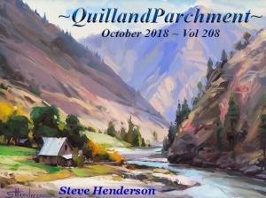 Quill And Parchment Magazine Features Steve Henderson